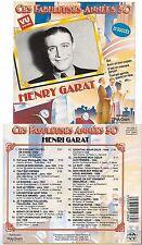 Ces Fabuleuses Années 30 [CD] Henri Garat (0917) en parlant un peu de paris