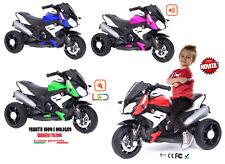 Moto Eléctrico para Niños Triciclo Eléctrico Para Niños Con Faro A LED Y Sonidos