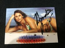 Amanda Beard Olympic Medalist 2005 Sports Illustrated Swimsuit #OL6 Auto JSA COA