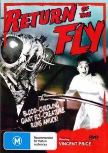 Return of The Fly DVD New Sealed Australian Release