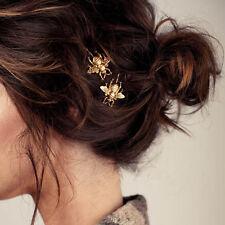Hot Fashion Women Cute Bee Hair Claws Hair Accessories Hair Pins Hair Clip ZO