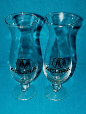 Pair of : ACURA LOGO Hurricane Glass : LEGEND - INTEGRA @ Honda CAR