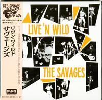 SAVAGES-LIVE'N WILD-JAPAN MINI LP CD BONUS TRACK C94