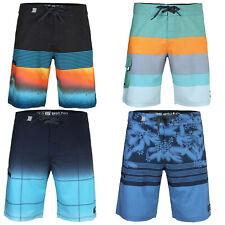 Men's Teen's Swimwear Board Shorts 34 Size Surfing Active Swim Trunks Blue