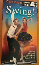 CAL POZO'S SWING! ~ LEARN TO DANCE IN MINUTES ~ VHS VIDEO TAPE ~JITTERBUG, LINDY