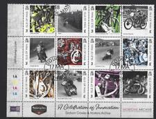 ISLA DE MAN 2018 Motocicletas MATASELLADO Set de 12