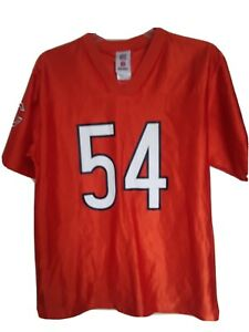 Chicago Bears #54 Brian Urlacher Alternate Orange Jersey Size 14/16