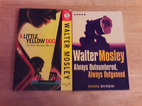 2 WALTER MOSLEY Crime Thriller paperbacks / a must read