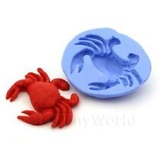 Maison De Poupées Miniature Réutilisable Grand Crabe Moule Silicone