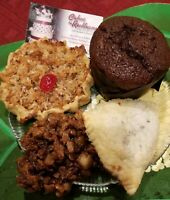Jamaican Assortment of Pastries, Caribbean Desserts, Tarts, Cookies, Rum Cake