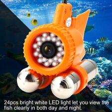 Caméra sous-marine étanche 1000TVL HD avec détecteur de poissons à 24 LED et