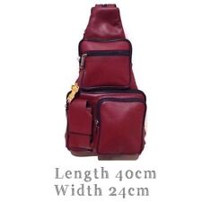Genuine Leather Back Pack