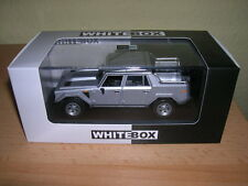 Whitebox Lamborghini Lm 002 LM002 (1986) Argent Argent 1:43