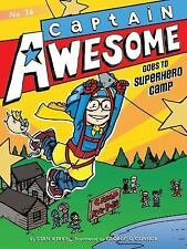 Captain Awesome Goes to Superhero Camp-ExLibrary