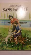 Livre ancien enfant Sans famille Hector Malot 1969 grand hachette Clouzot illust