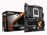 GIGABYTE X399 AORUS PRO AMD Ryzen Thread Ripper TR4 ATX 3X M.2 USB-C NEW