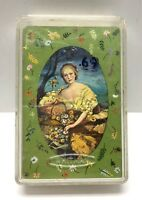 """Whitman playing cards """"Old Fashioned Ladies"""" With original Plastic Case Preowned"""