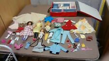 Collectible Vintage 1 lot of  Pre-owned 2 Barbie Dolls & Accessories
