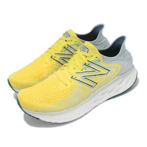 New Balance 1080v11 2E Wide NB Yellow Grey White Men Running M1080C11 2E
