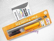 Pilot Calligraphy P-FP-120R-24 Parallel Pen 2.4mm Nib + 12 Colors Cartridges