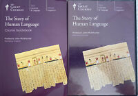 The Story Of Human Language, 6 x DVD Set + Course Guidebook - Like New