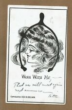 """Victorian Lady """"Wishbone"""" Wish with me- """"That we will meet again next summer"""""""