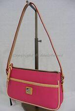 Dooney & Bourke EN904 HP Carley Lola Should Bag Hot Pink