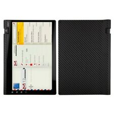 Skinomi Carbon Fiber Black Tablet Skin+Screen Protector for Notion Ink Adam 3G