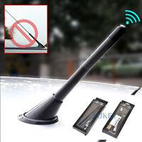 12cm Car Auto Carbon Fiber Short AM/FM Radio Aerial Antenna Mast Bee Sting Mini