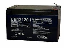 12 Volts 12Ah -Terminal F2 - SLA/AGM Battery - UB12120