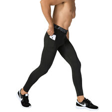 TOPTIE Mens Compression Tights Pants Cool Dry Sports Base Layer Running Leggings