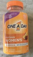 One A Day WOMEN'S VitaCraves 230 GUMMIES MULTIVITAMIN MINERAL SUPPLEMENT Vitamin