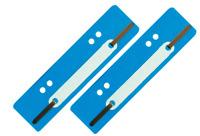 1000 St Aktendulli Kösterstreifen Heftstreifen kurz 3,5x15 cm DIN A4+A5 h'blau