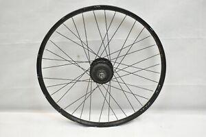 "Nexus Inter8 Front 26"" Cruiser Wheel Internal Black OLW130 20mm 36S PV Charity!!"