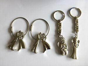 Schlüsselanhänger  Brautpaar o. Schutzengel verschieden zur Auswahl