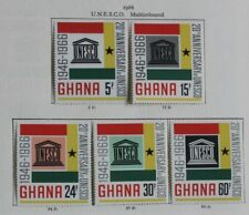 complete.issue. Ghana Block21 Never Hinged 1966 Hunger Unmounted Mint