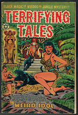 TERRIFYING TALES  14  VG-/3.5  -  Scarce LB Cole Jungle cover from 1953!
