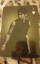Super junior sungmin OFFICIAL trump photocard Kpop k-pop