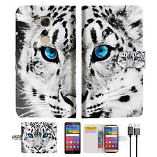 Leopard Wallet Case Cover for Huawei Ascend Gr5 2017 A013