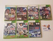 Xbox360 xbox 360 Giochi Lotto Pes 2008 2009 2010 2011 2012 2013 2014 Idea Regalo