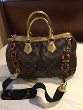 Authentic Louis Vuitton Monogram Leopard Stephen Limited Edition Handbag