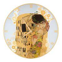 Goebel Der Kuss Wanduhr Artis Orbis Gustav Klimt Bunt Glas