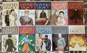 Jupiter's Legacy #1 2 3 4 5 + Jupiter's Legacy 2 #1 2 3 4 5 Complete Lot Netflix