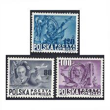 Poland 1948 Roosevelt Presidents MLH Set 3 Michel 515/7 (4-21)