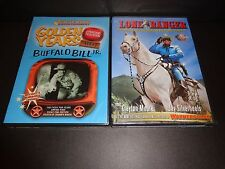 GOLDEN YEARS BUFFALO BILL JR & THE LONE RANGER-2 movies-Tonto helps fight evil