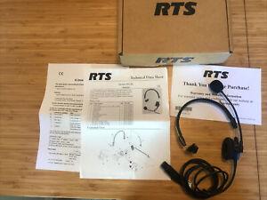 Telex PH-88R Lightweight Single Sided Headset for RTS F.01U.117.490 In Box