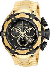 Invicta Bolt Men Swiss Quartz Chronograph Gold 52mm Stainless Steel Watch 21346