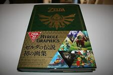 New The Legend of Zelda 30th Anniversary Art Book Hyrule Graphics Japan Game