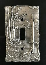 CUSTOM PEWTER GOTHIC SWORD EXCALIBUR GAME OF THRONES LIGHT SWITCH PLATE COVER