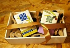 2 KISS MY FACE PURE OLIVE OIL lavender + olive valentine wedding set greece soap